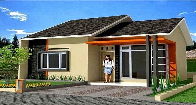 Desain Rumah Minimalis Dapur Di Depan  desain rumah minimalis sederhana modern tampak depan