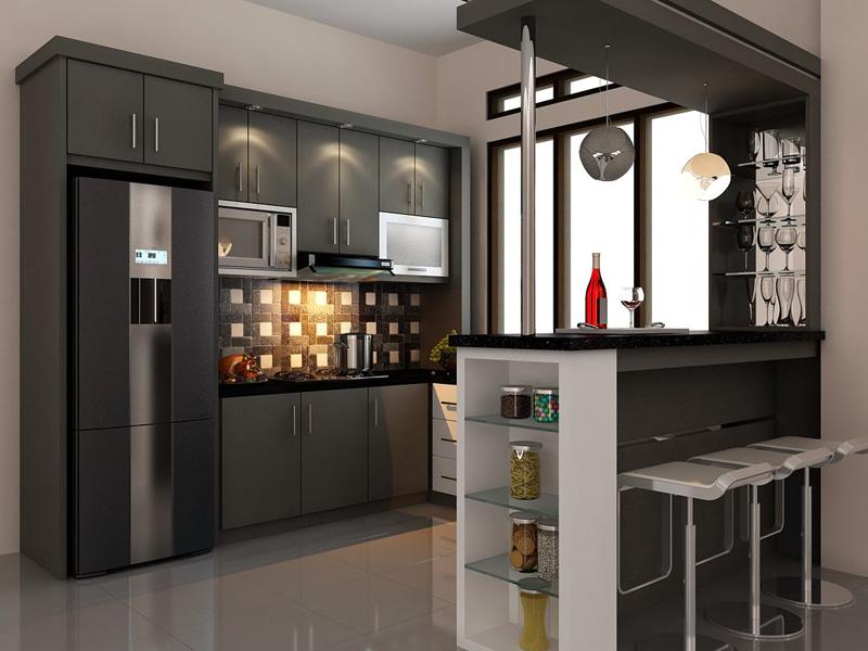 7 Rekomendasi Kitchen Set Dapur Elegan Dengan Harga Yang Murah